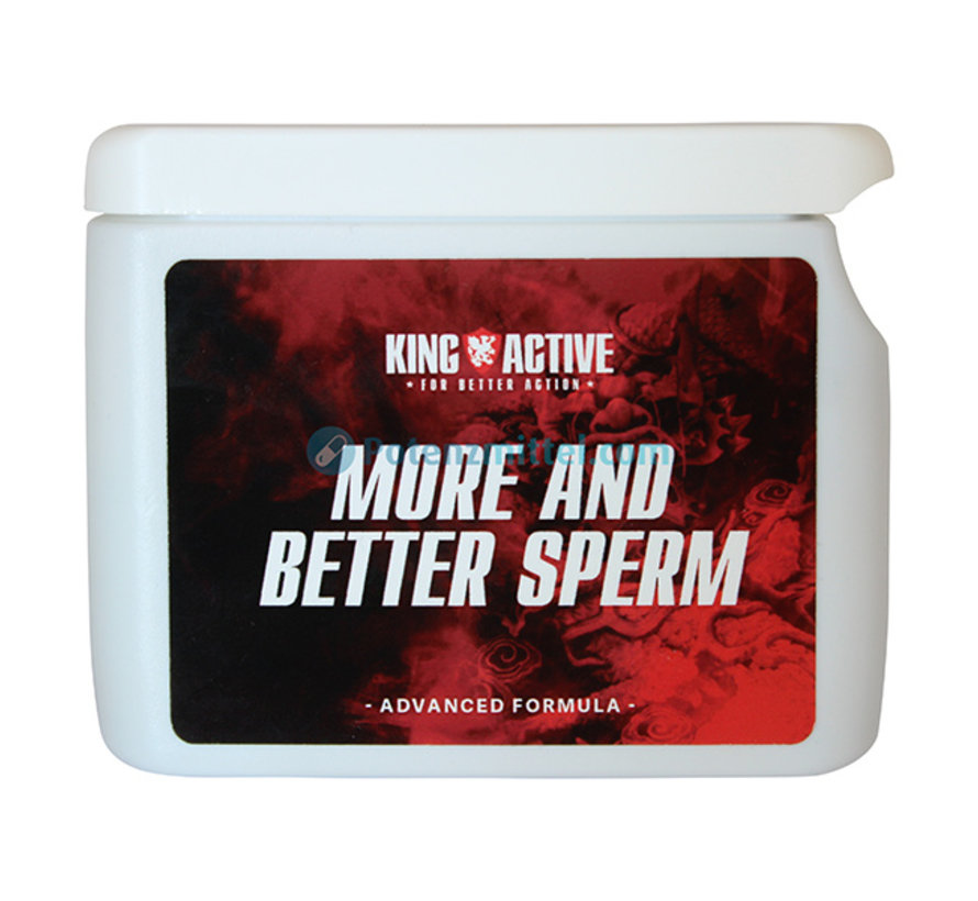 King Active More and Better Sperm 60 Kapseln