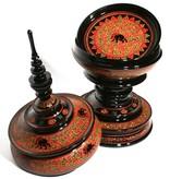Birmees lakwerk offerschaal