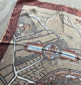 fabstyle Zijden sjaal bruin