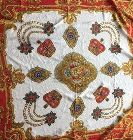 fabstyle Zijden sjaal rood