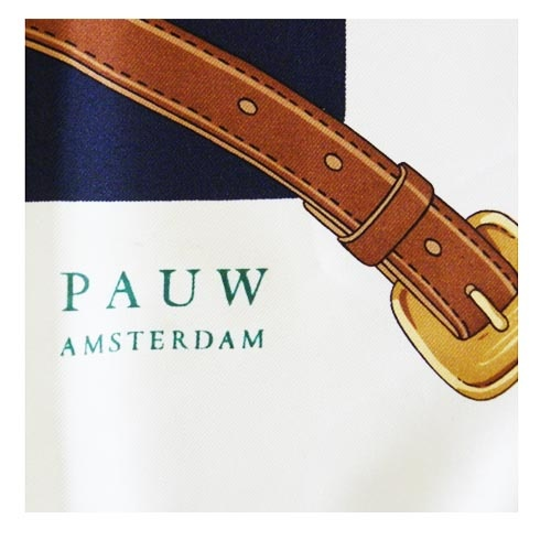 Pauw Amsterdam Zijden sjaal Pauw Amsterdam