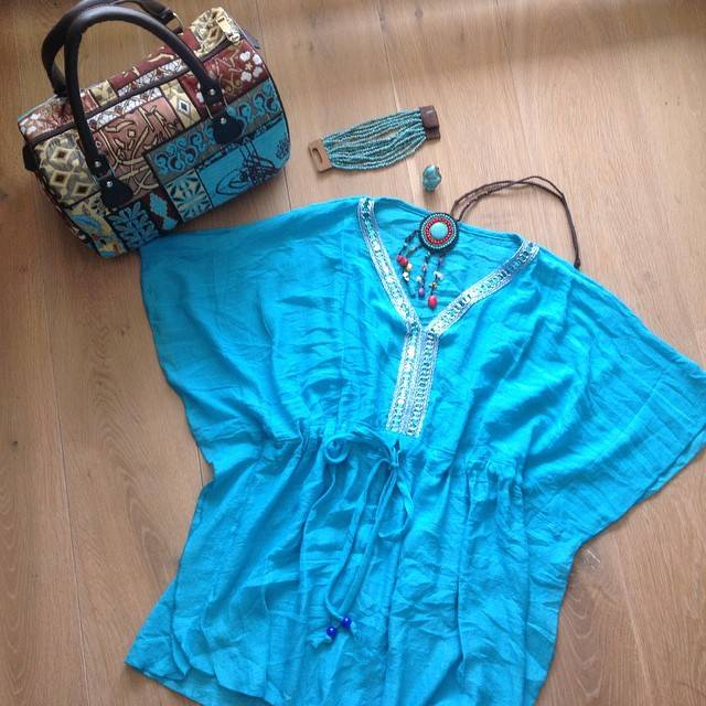 Lekker zomers Turquoise!