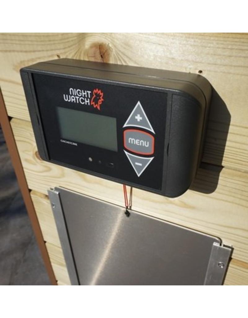 ChickenCare Porte Poullailler Nightwatch avec télécommande