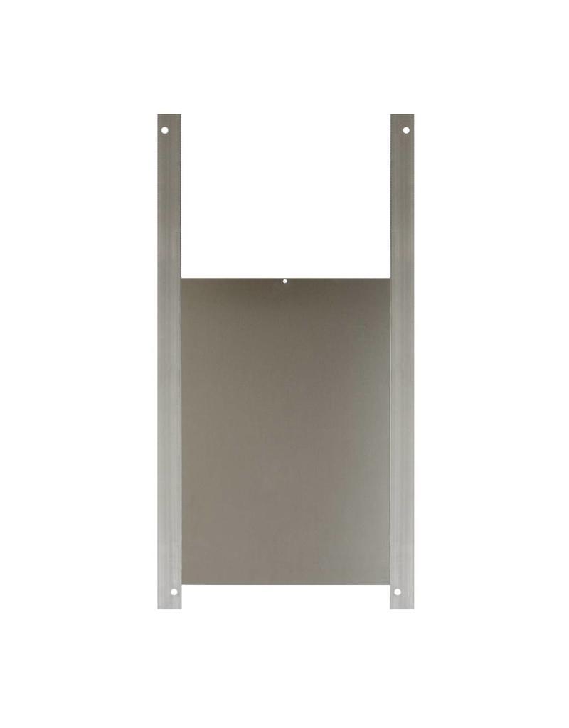 ChickenCare Trappe en aluminium - 33 x 50cm