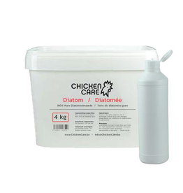 ChickenCare Diatom 4kg - emmer met verstuiver