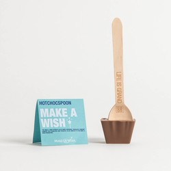 CHARITY MAKE A WISH HOTCHOCSPOON