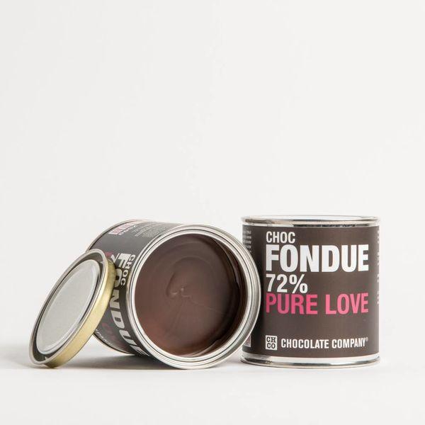 BLACK & BEAUTIFUL 72% FONDUE
