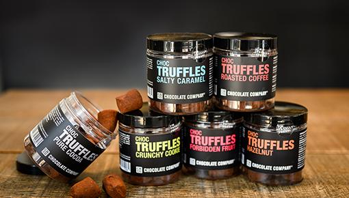 Chocoladetruffels gemaakt van de beste cacaobonen en lekkerste ingrediënten.