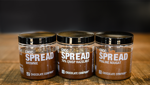 Chocspread - handmade spreads for your sandwich, toast or pancake