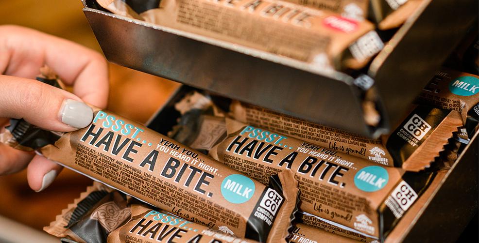 Cacao-Trace CHCO chocolade!