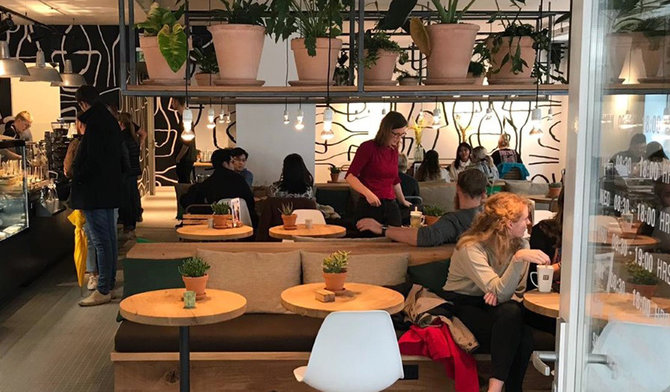 Chocolate Company Café Groningen is open