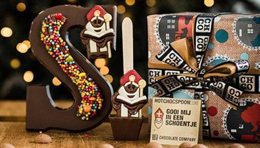 Sinterklaas ist zusätzlicher Grund für eine Schokoladen-Partei!