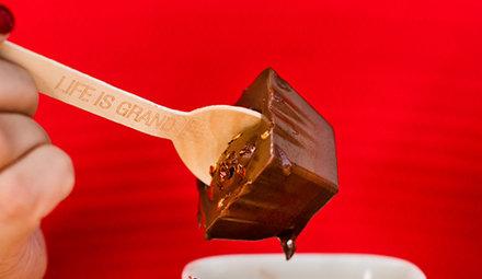 Milchschokolade Hotchocspoons