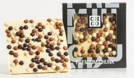 Weiße Schokolade Chocbars
