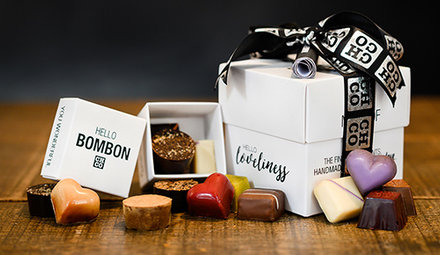 Chocolate boxes per gram