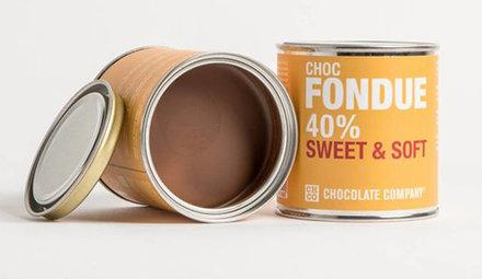 Milchschokolade Chocfondue