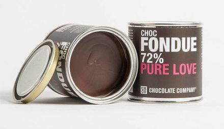 Zartbitter Schokolade Chocfondue