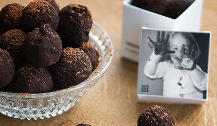 72% classic truffels