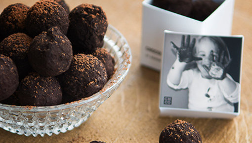 72% classic truffles