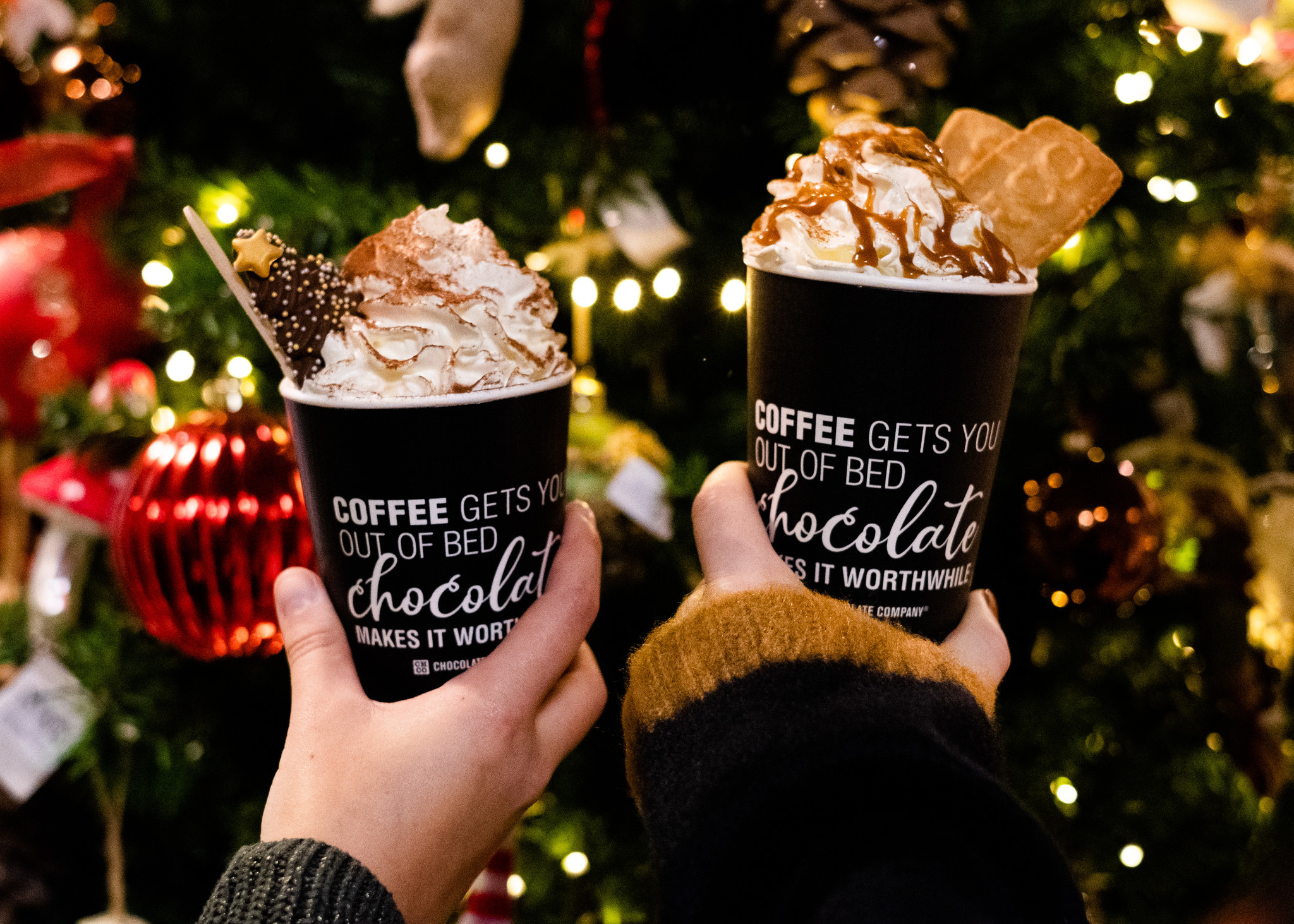 All I want for Christmas... is chocolate!