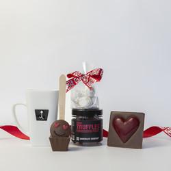 ein süßes Schokoladengeschenkset für Mama