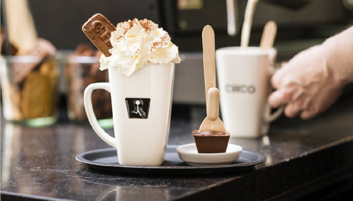 Our Hotchocspoon in more than 60 different flavors!