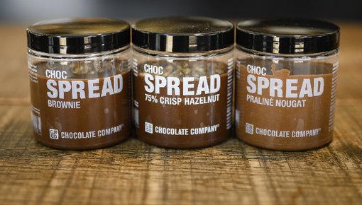 Chocolade spread voor op je boterham of pannenkoek
