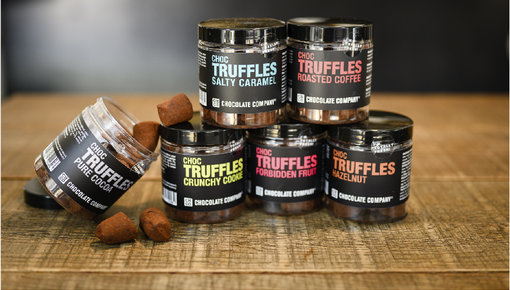 Chocolate truffles made from the best cocoa beans and tastiest ingredients.