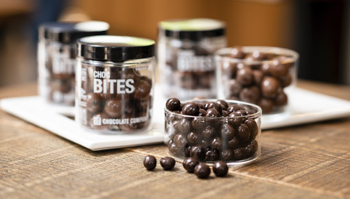 Heerlijke bites gemaakt van de lekkerste chocolade.