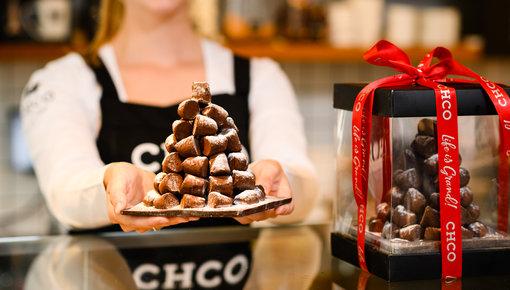 Finden Sie hier die schönste und leckerste Weihnachtsschokolade für unter den Baum!
