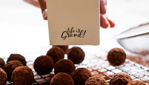 Pure ganache truffels