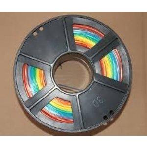 Rainbow Pack ABS. 7 Kleuren: wit,zwart,rood,geel,groen,blauw en grijs.