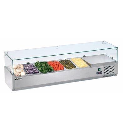 Bartscher Kühlaufsatzvitrine 6x1/3GN T150