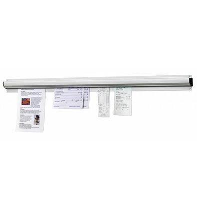 Bartscher Zettelhalter 610mm, Alu