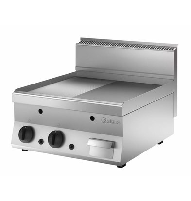 Bartscher Grillplatte Gas 650,B600, 1/2-1/1