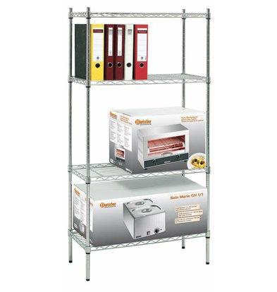 Bartscher Büro Regal - 750x350x1520 mm
