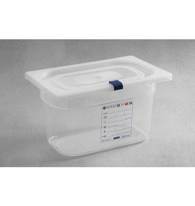Hendi Aufbewahrungsbehälter set GN 1/4 - 150 mm