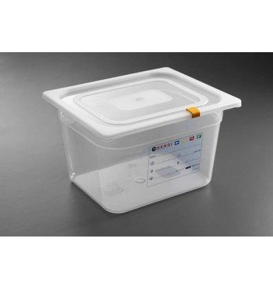 Hendi Aufbewahrungsbehälter set GN 1/2 - 100 mm