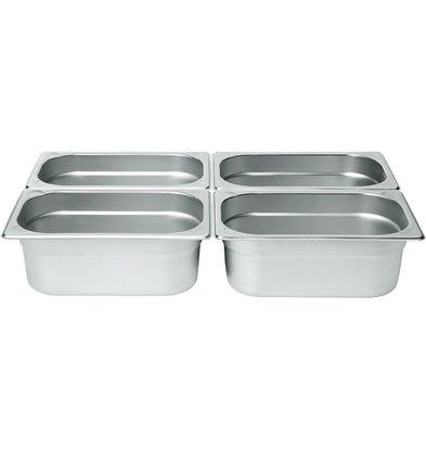 Hendi Gastronorm Behälter 1/4 65 mm