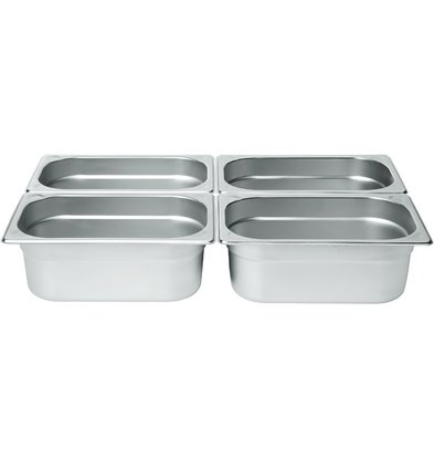 Hendi Gastronorm Behälter 1/4 100 mm