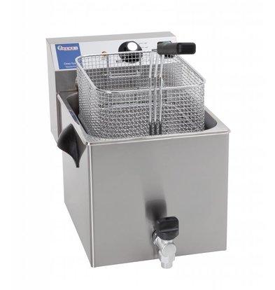 Hendi Friteuse MasterPro - 8 Liter - mit Ablasshahn