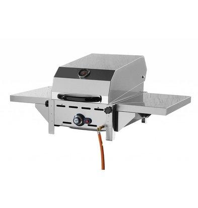 Hendi Rolltop Deckel für Grillsystem Green Fire 1 Brenner