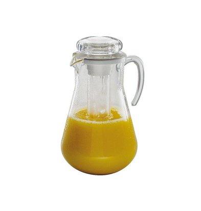 Hendi Saftkanne 3 Liter - Rohr für Eiswürfel zur Kühlung