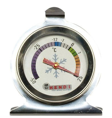 Hendi Kühlschrankthermometer Messbreich -50 ºC bis +25 ºC