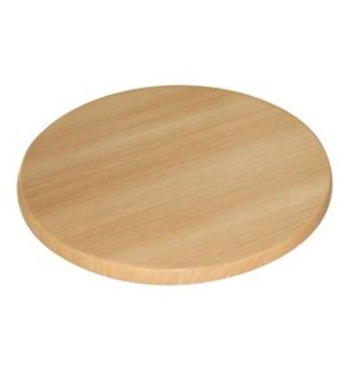 XXLselect Bolero Tischplatte rund Buche 60cm
