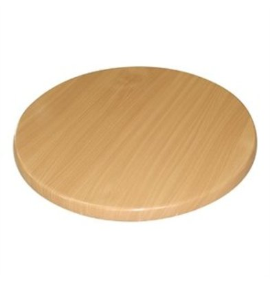 XXLselect Bolero Tischplatten rund Buche 80cm