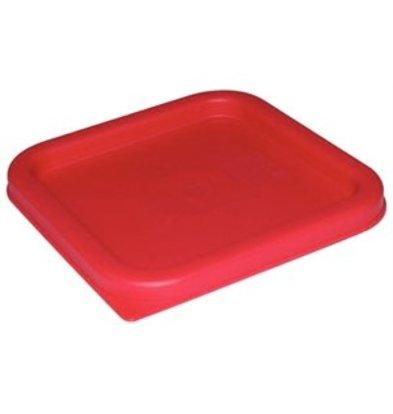 XXLselect Deckel viereckig 1,5-3,5Ltr Rot