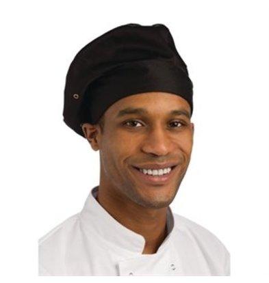 XXLselect Chef Works Kochmütze schwarz