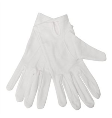 XXLselect Damen Servierhandschuhe weiß L