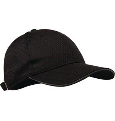 XXLselect Colour by Chef Works Cool-Vent Baseballcap schwarz grau
